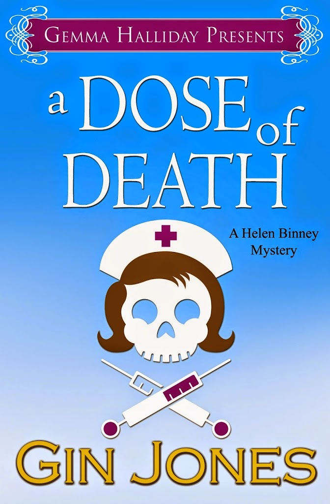 Review: A Dose of Death (Helen Binney Mysteries) – Gin Jones @GiniaJo @gemmahallidayca